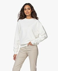 Closed Cotton French Terry Sweatshirt - Ivory