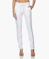 JapanTKY Yopi Travel Heavy Jersey Pants - White