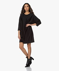 Drykorn Tilesa Lyocell Blend Dress - Black