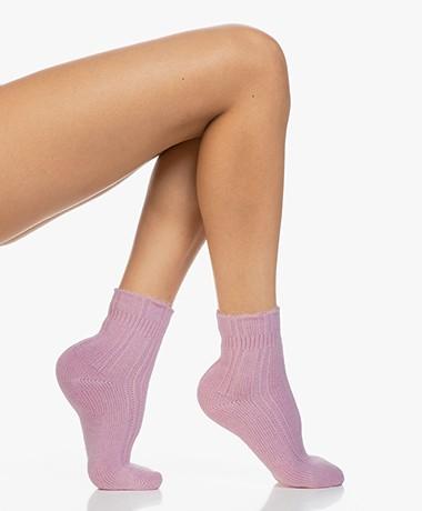 FALKE Ultra Soft Bed Socks - Brick