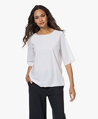 Woman by Earn Danny Tech Jersey T-shirt - Wit