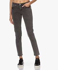 MKT Studio The Bardot Power Stretch Jeans - Grey Kurt Wash