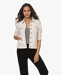 Woman by Earn James Corduroy Jacket - Off-white