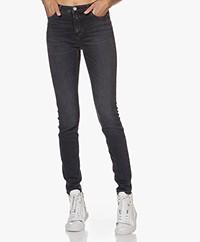 Closed Lizzy Super Stretch Denim Skinny Jeans - Dark Grey
