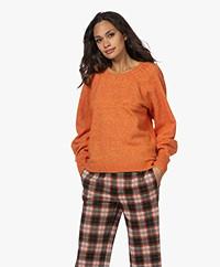 Josephine & Co Noelle Mohair Blend Sweater - Orange