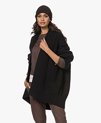 extreme cashmere N°34 Bon Cashmere Muts - Donkerbruin