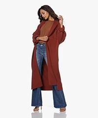 extreme cashmere N°195 Coat Cashmere Vest - Harissa