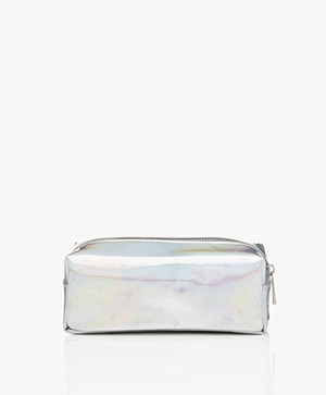 &Klevering Metallic Makeup Bag - Cosmic