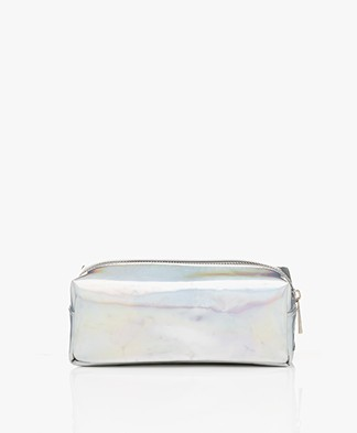 &Klevering Metallic Make-up Tas - Cosmic