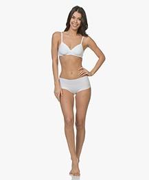 HANRO Invisible Cotton Maxi Slip - Wit