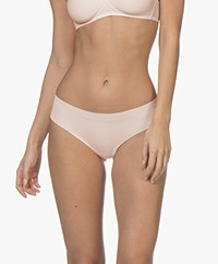 HANRO Invisible Cotton Midi Briefs - Powder