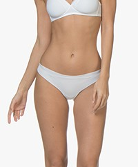 HANRO Invisible Cotton Thong - White