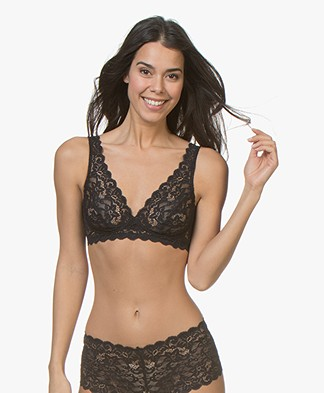 HANRO Moments Soft Cup Bra - Black