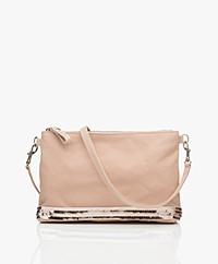 Vanessa Bruno Sequin Shoulder Bag - Silk