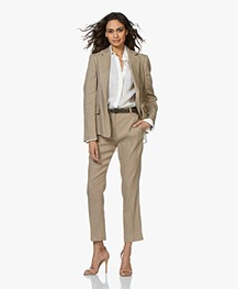 Joseph New Williams Linen Blend Blazer - Beige