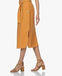 Josephine & Co Carlos Linen Skirt - Golden Yellow