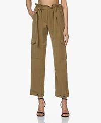 Rag & Bone Tilda Cargo Lyocell Pants - Olive
