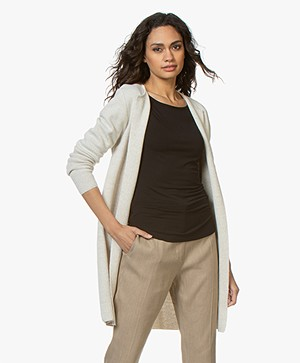 Sibin/Linnebjerg Zuni Long Open Cardigan - Kit