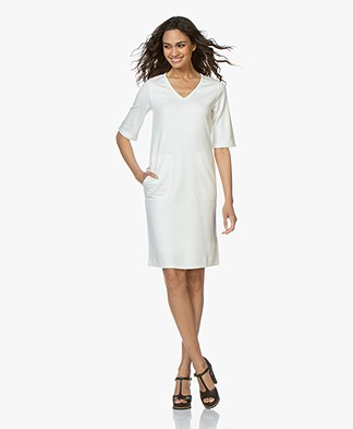 Filippa K Double face Jersey Dress - Off-white