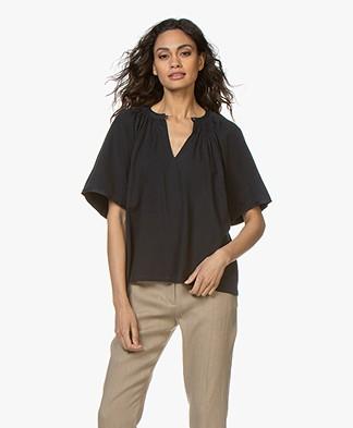 Vanessa Bruno Liora Wide Sleeve T-shirt - Marine