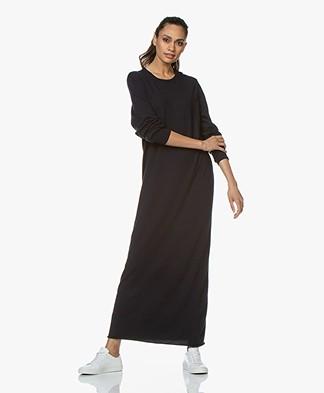 extreme cashmere N°95 Tiamo Maxi Dress - Navy