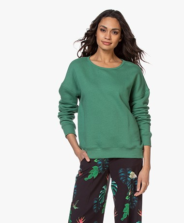 by-bar Becky French Terry Sweater - Agave