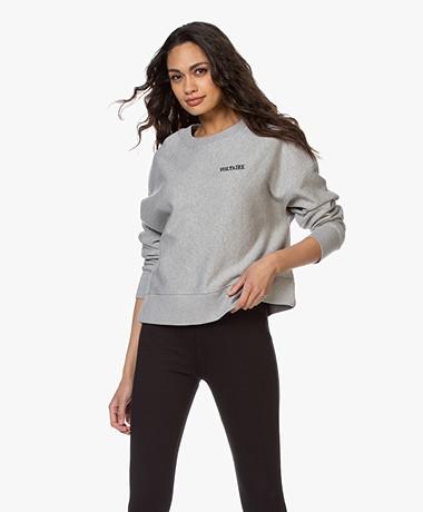 Zadig & Voltaire Champ Voltaire Sweater - Grey Melange