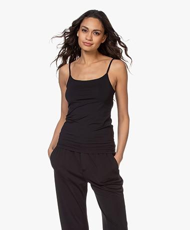 Filippa K Tech Jersey Slip Top - Black