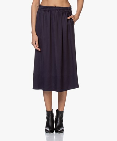 Filippa K Juliet Dobby Rok - Deep Blue