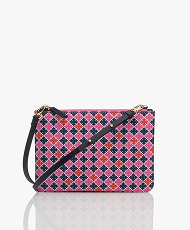 By Malene Birger Ivy Mini Schoudertas - Vibrant Pink