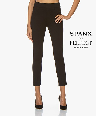 SPANX® The Perfect Ponte 4-pocket Legging - Zwart