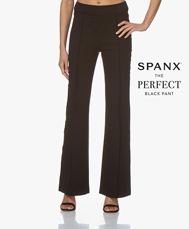 SPANX® The Perfect Ponte High-rise Flare Leggings - Classic Black
