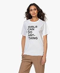 Zadig & Voltaire Bella Girls T-shirt - Wit