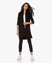 LaSalle Long Open Cardigan from Soy Beans - Black