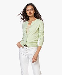 extreme cashmere N°94 Little Cardi Cardigan - Lime