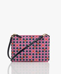 By Malene Birger Ivy Mini Schoudertas - Vibrant Pink