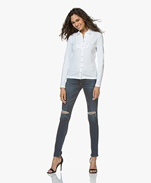 Rag & Bone Distressed Skinny Jeans - Vashon