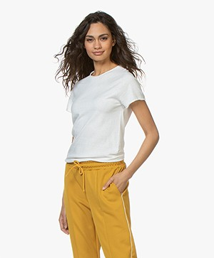 Filippa K  Seamless T-shirt - Off-white
