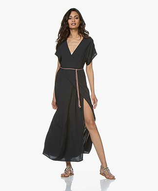 Marie Sixtine Nora Viscose Maxi Dress - Prusse
