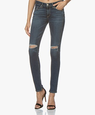 Rag & Bone Distressed Skinny Jeans - Vashon