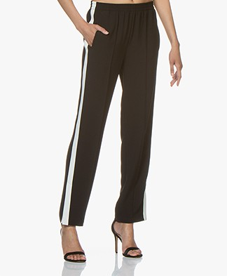 Rag & Bone Ryan Loose-fit Track Pants - Black