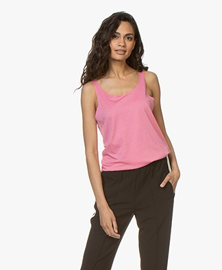 Repeat Lyocell Mix Tanktop - Roze