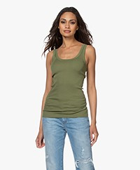 By Malene Birger Newdawn Tank Top - Olivine