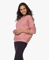 by-bar Becky French Terry Sweater - Ash Rose