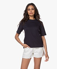 Filippa K Organic Cotton T-shirt - Navy