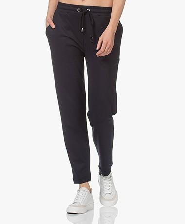 JapanTKY Hintage Tencel Mix Sweatpants - Zwartblauw