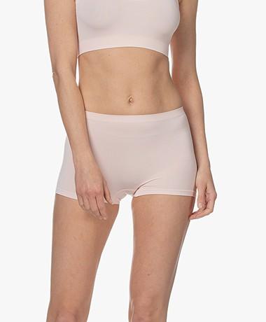 HANRO Touch Feeling Boy Shorts - Apricot Blush