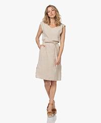 Josephine & Co Leo Sleeveless Linen Dress - Natural