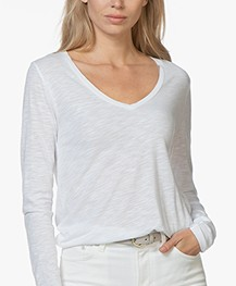 American Vintage Jacksonville Long Sleeve - White