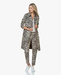 By Malene Birger Santsi Zebra Print Pants - Dry Desert